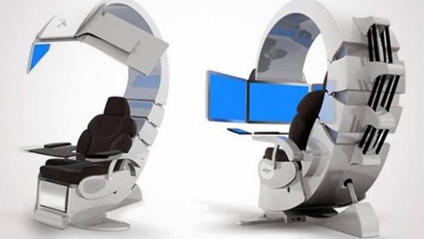 High Tech Office Desks Future