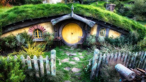 Hobbit House Bloom Bark Farm