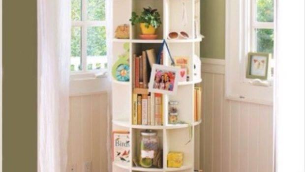 Home Accessory Rotating Shelf Cool Decor