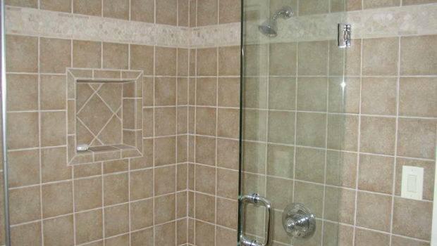 Home Bathroom Creative Tile Shower Designs Ideas
