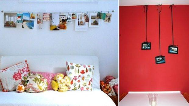 Home Decor Ideas Hanging Without Frames