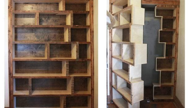 Home Design Unique Hidden Door Bookcase