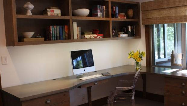 Home Interior Cool Office Desk Design Ideas
