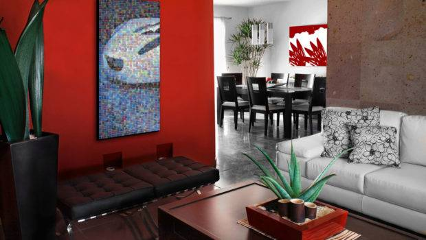 Home Interior Design Red Decorating Inspiration