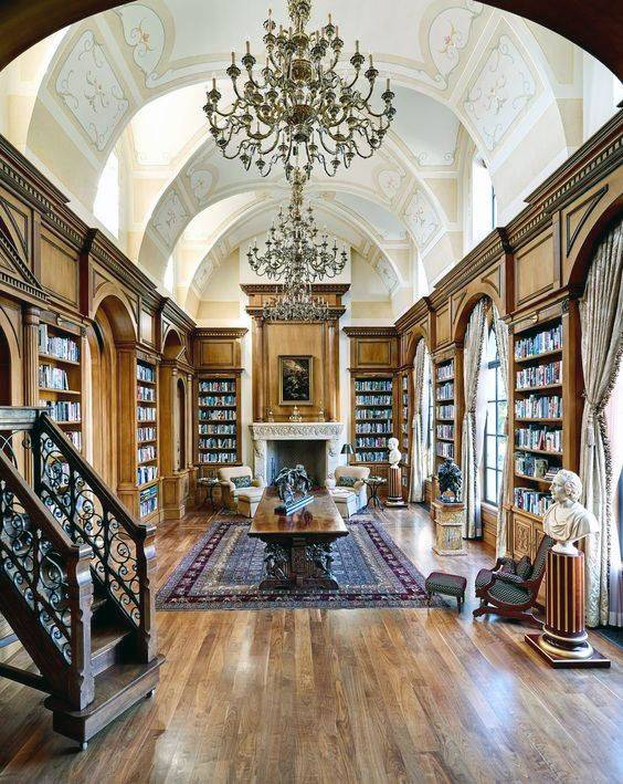 Home Library Ideas Men Private Reading Room Designs - Cute ...