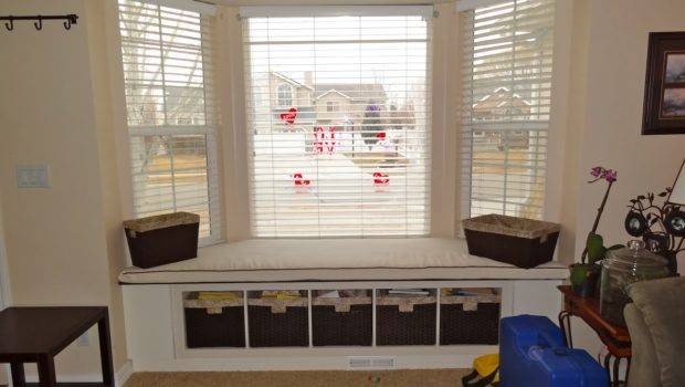 Home Living Room Building Window Seat Bay Build
