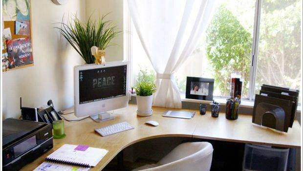Home Office Design Corner Desk Homeexteriorinterior