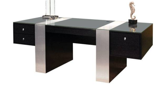Home Office Furniture Executive Wenge Color Desk