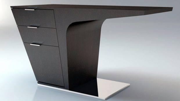 Home Office Mercer Contemporary Modern Desk Modloft