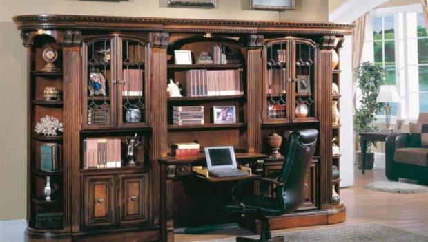 Home Office Piece Library Desk Hun Urban Living Furniture