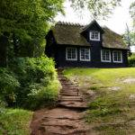 Home Other Black Wood House