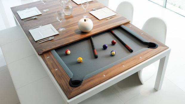 Home Tech Leisure Fusion Dining Pool Table