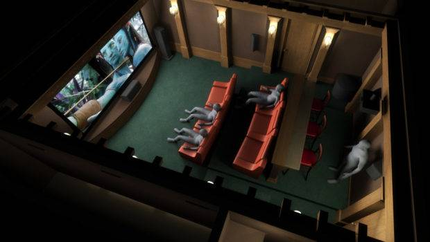 Home Theater Plan Garage Space Renders Avs