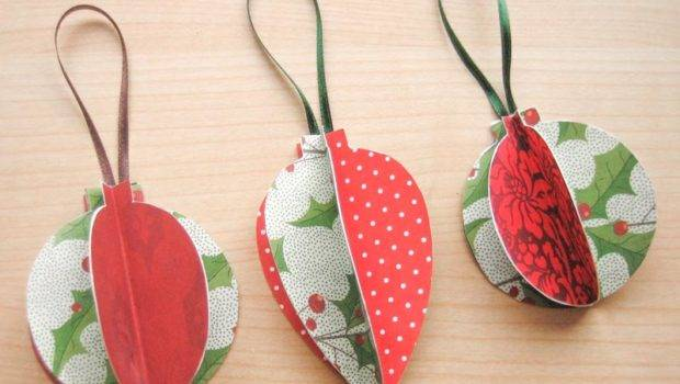 Homemade Christmas Ornaments Make