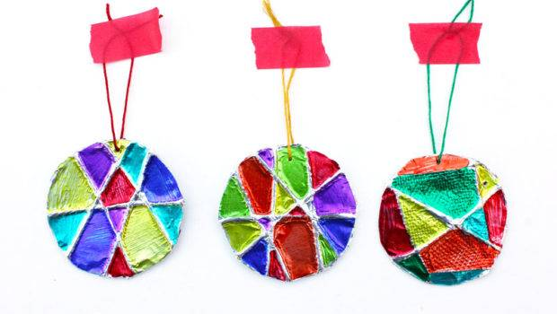 Homemade Christmas Ornaments Minute Embossed