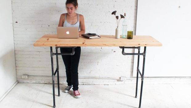 Homemade Modern Standing Desk