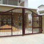 Homes Iron Main Entrance Gate Designs Ideas Modern Home