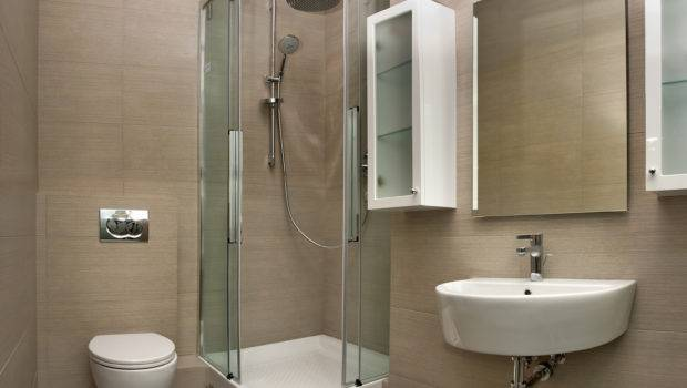 Homes Small Space Design Ideas Shower Bath Bathroom