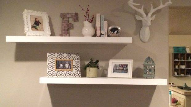 Hometalk Rustic Decor Floating Shelves