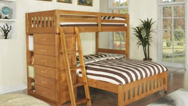 Honey Loft Bunk Bed Twin Over Factory Beds