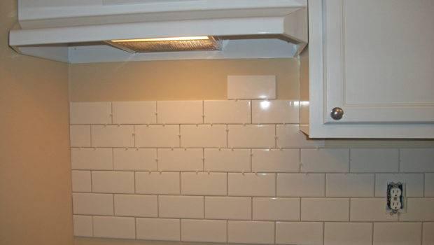 House White Subway Tile Kitchen Backsplash