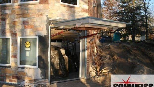 Hydraulic Garage Door Your Schweiss Can Manufacture Also
