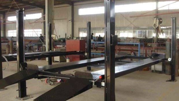 Hydraulic Single Post Car Lift Home Garage Sale