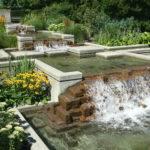 Ideas Contemporary Garden Ponds Modern Stone Designs