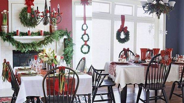 Ideas Decorate Christmas Table Year