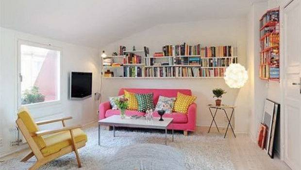 Ideas Decorating Small Apartment Spaces Along