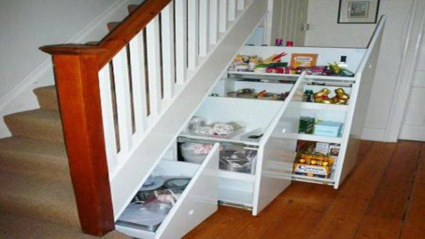Ideas Design Interesting Under Stair Storage Solutions