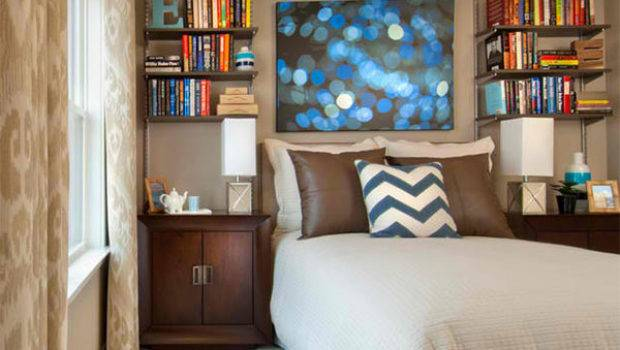 Ideas Designing Bedroom Bookshelves House