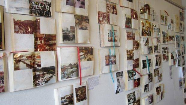 Ideas Hanging Wall Without Frames Book