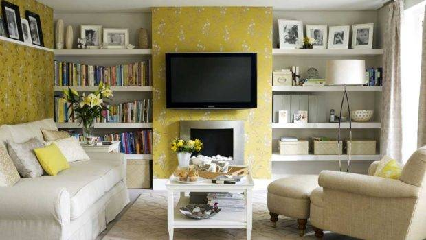 Ideas Living Room Interior Designs Photos Decorating