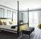 Ideas Luxe Bedroom White Grey Black Touch Yellow