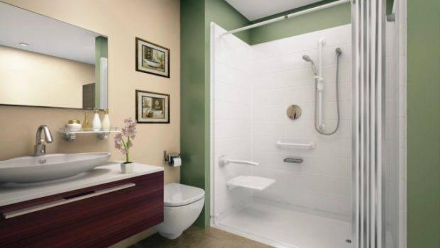 Ideas Modern Bathroom Walk Shower Small