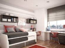 Ideas Small Kids Rooms Space Saving