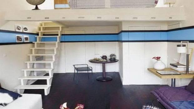 Ideas Studio Apartments White Furniture Decorating