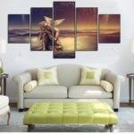 Ideas Wall Art Sets Living Room