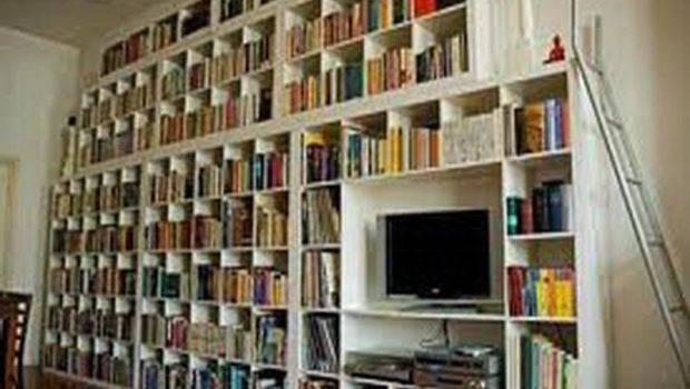 Ideas Wall Shelves Books Collection Design