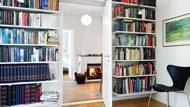 Ideas Wall Shelves Books Stylish Design