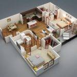 Idee Plan Appartement Chambres