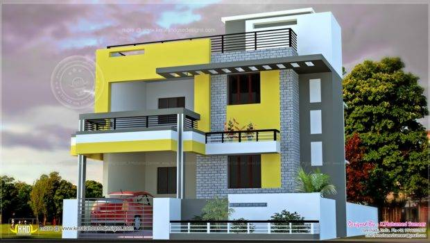 India House Plan Modern Style Home Kerala Plans Dma