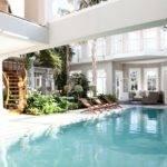 Indoor Pool Small Garden Swimming Pools Pinterest