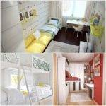 Ingenious Ideas Design Narrow Space Kids Rooms