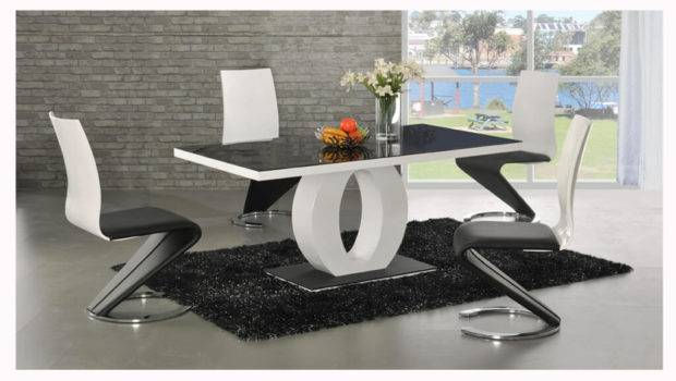 Ingenious White Dining Table Circle Leg Unusual