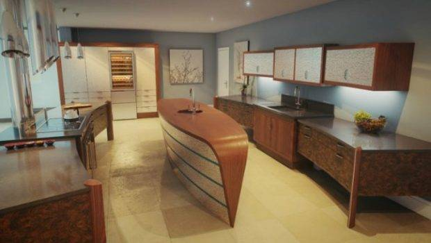 Innovative Kitchens Curvaceous Countertops
