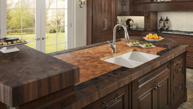 Innovative Traditional Style Butcherblock Countertop