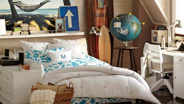 Inspired Bedrooms Teen Beach Bedroom Ideas Girls Room