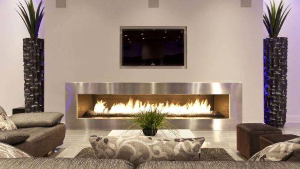 Installed Center Your Living Room Can Add Decoration